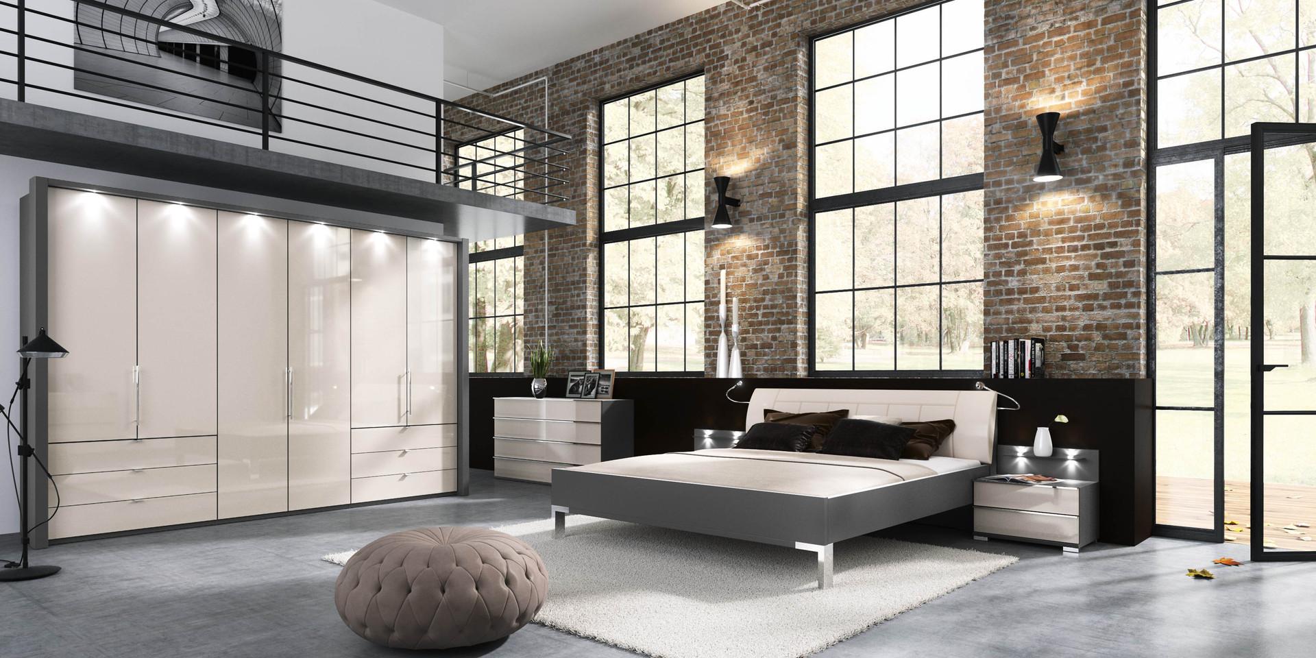 best schlafzimmer bad hinter glas loft wohnung gallery