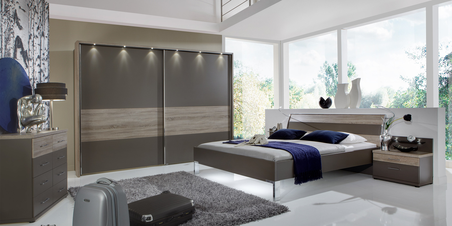 schlafzimmer. Black Bedroom Furniture Sets. Home Design Ideas